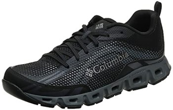 Columbia Men's Drainmaker IV Water Shoe, Black, lux, 9.5 Regular US