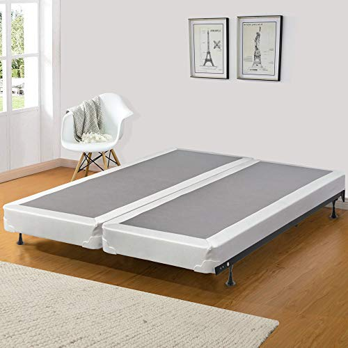 Spinal Solution 4' Fully Assembled Split Box Spring for Mattress, Queen
