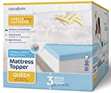 "Novaform 3"" EVENcor GelPlus Gel Memory Foam Mattress Topper with Cooling Cover"