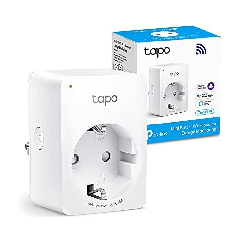 【Nuevo】 TP-Link Tapo P110 - Mini Enchufe Inteligente Wi-Fi (con...