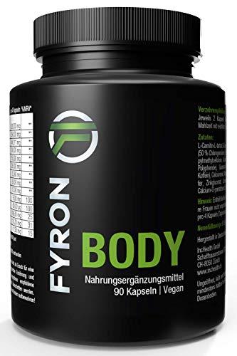 FYRON Body - Verdauung, Energie & Stoffwechsel - Vegan ohne Füllstoff
