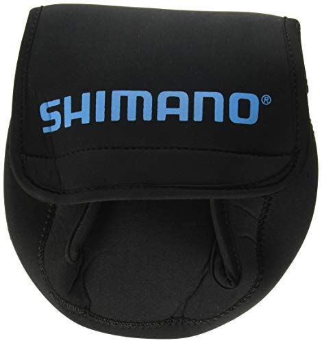 Shimano Neoprene Reel Cover; Medium; Black