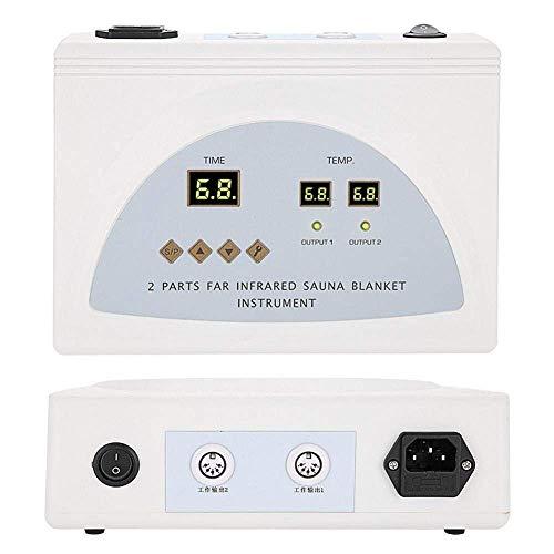 TOUKUN Digital Far-Infrared (Fir) Heat Sauna Blanket 2 Zone Controller To Reduce Weight Thin Body Home Beauty 3