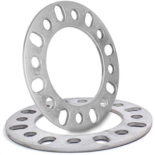 6mm (1/4') Thick Wheel Spacer Fit 8x165.10mm (8x6.50), 8x170mm, 8x180mm Set of 2