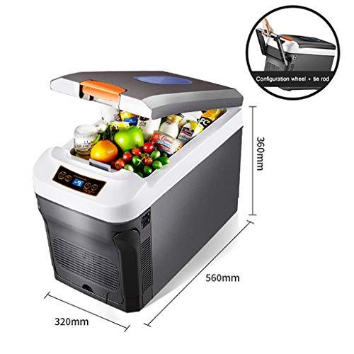 YXWbx Mini frigoriferi Mini Frigo Raffreddamento & scaldino, AC + DC Portable Power compressore...