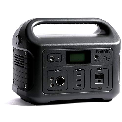 SmartTap ポータブル電源 PowerArQ チャコール (626Wh/174,000mAh/3.6V/正弦波 100V 日本仕様) 正規保証2年...