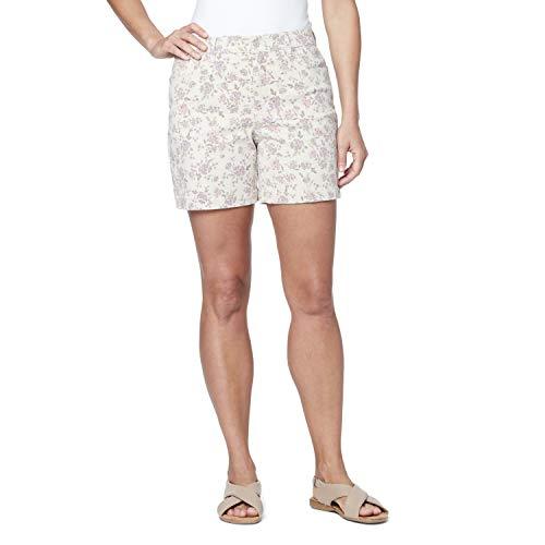 Gloria Vanderbilt Women's Amanda Basic Jean Short, Pink Multi, 10