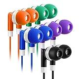 Bulk Earbuds Headphones 100 Pack Earphones- Keewonda Wholesale Classroom Ear Buds Kids Bulk...