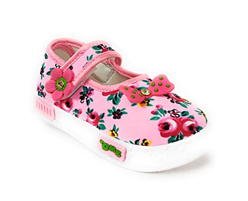 Coolz Girls Baby Fashion Shoes Bellies (Pink, 12_Months)