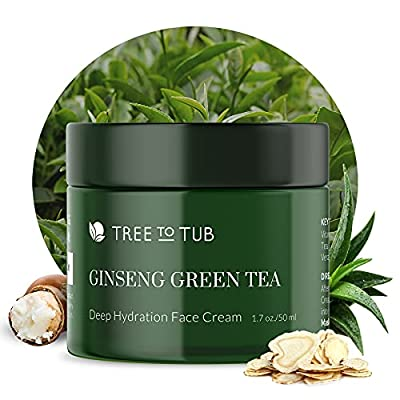 🌱 DEEP HYDRATION, ALL DAY: Why wait until nighttime to treat your sensitive skin to a nourishing revival, when you can feel fresh and hydrated with a dewy glow all day! Free from oily residue and packed with deep organic moisture, this face cream moi...