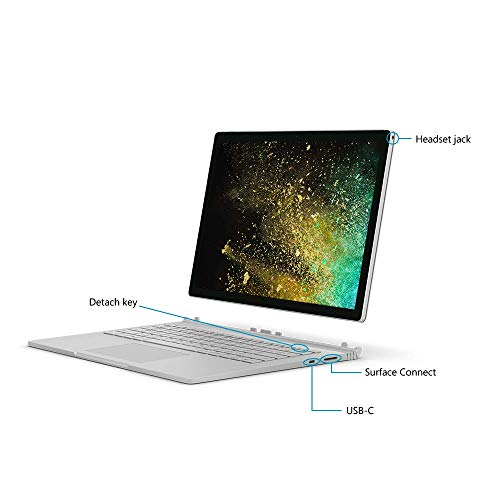 Microsoft Surface Book 2 Intel Core i7 8th Gen 13.5 inch Touchscreen 2-in-1 Laptop (8GB/256GB/Windows 10 Pro/Integrated Graphics/Platinum/1.642kg), HN4-00033 5