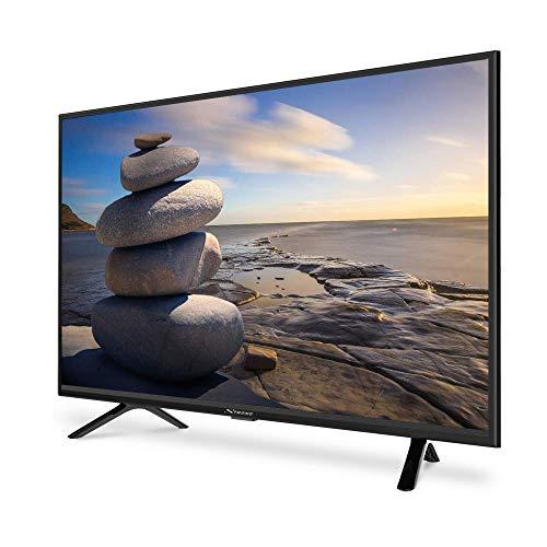 STRONG SRT32HC4043 HD LED TV, écran 80cm, 32 Pouces, Triple Tuner (DVB-T2 HEVC265/C/S2), 60 Hz, Son Dolby Audio Digital, HDMI x2, USB Multimédia, Optique, CI+, Compatible FRANSAT