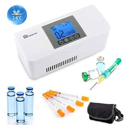 IDABAY Santé Réfrigerateur Glacière Électrique Portable Mini Thermostat...