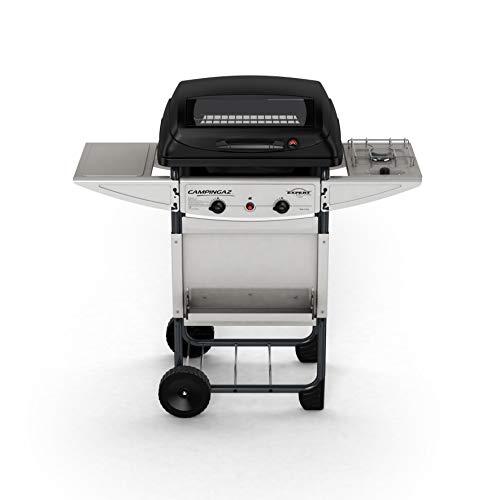 Campingaz Expert Deluxe Pietre Laviche, Grill Barbecue Compatto a Gas con 2 Bruciatori, Potenza 7...