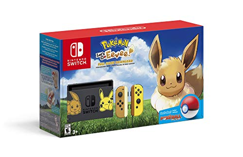 Consola Nintendo Switch + Pokémon Let's Go, Eevee! Edition