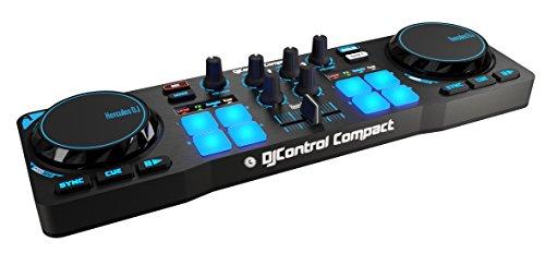Controladora DJ Control Compact, Hercules, 4780843, Preto