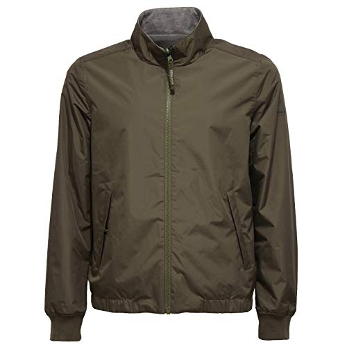 Woolrich 9821W Giubbotto Uomo Penn-Rich Green/Grey Double-Face Jacket...
