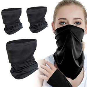 3 Pcs Neck Gaiters, Face Cover Scarf