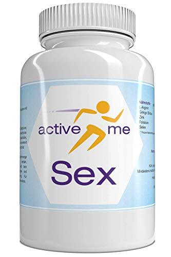 activeMe Sex | Testosteron, Leistung & mehr Spaß | 90 Vegane Kapseln