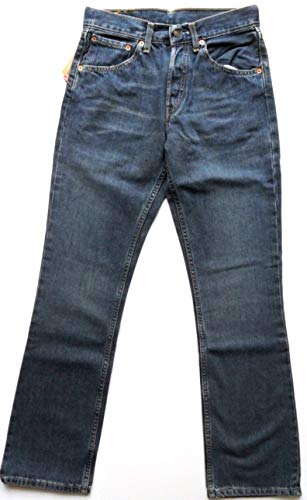 Levi's 535 Standard Fit Jeans New Vintage Woman Girls Distressed Blue...