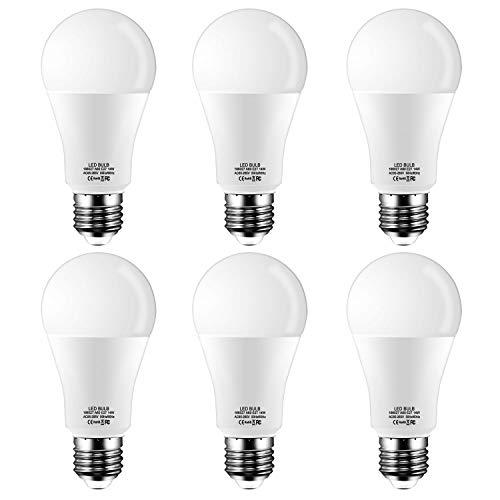 E27 LED Lampadina Edison,14W,equivalenti a 120W,1200lm,Luce Bianca Calda 2700k,Pacco da 6