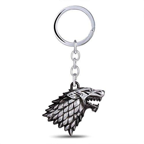 Game Of Thrones House Stark Keychain