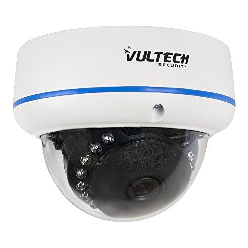VulTech Security CM-DM96IP-POE Telecamera, Dome, IP, 1/2.7', 1.3 mpx, 960 p, 3.6 mm, 15 Pezzi, LED IR, 25 m, Bianco