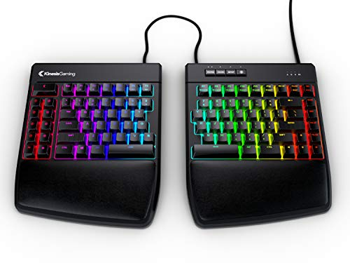 KINESIS Gaming Freestyle Edge RGB Split Mechanical Keyboard (MX Brown)