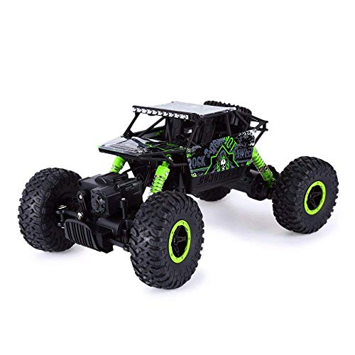 Rabing Newer 2.4Ghz Racing Cars Rc Cars Remote Control Cars Electric Rock Crawler Radio Control Vehicle Off Road Cars(Green or Blue)