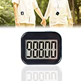 Pedometer Clip On, Step Counter for Walking for Women with Large Display and Lanyard, Pedometers for...