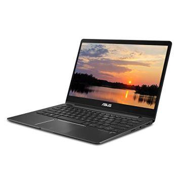 "ASUS ZenBook 13 Ultra Slim Laptop, 13.3"" FHD Wideview, 8th Gen Intel Corei7-8565U, 8GB LPDDR3, 512GB PCIe SSD, Backlit KB, Fingerprint, Slate Gray, Windows 10, UX331FA-DB71"