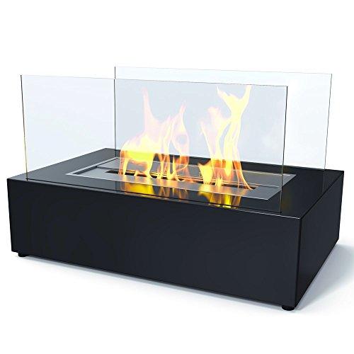 Imagin Bio Ethanol Fireplace - Eton Black