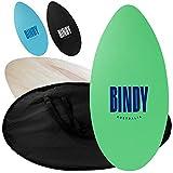 BINDY Australia Skimboard - 41 Inch - EVA Grip Pad Top - Bag Included - Beginner to Intermediate Skimboards - Wood Skim Boards for Beach - The ONLY Skim Board You'll Ever Ride!