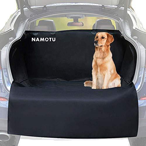 Namotu Universal Kofferraumschutz Hunde Auto - mit Seitenschutz Ladekantenschutz für Kofferraum - Kofferraumschutzdecke Hund wasserdicht, Ideal Kofferraumschutzmatte für deinen Hund