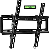 Tilt TV Wall Mount Bracket for Most 32-55 Inch Flat Screen, Curved TVs - BLUE STONE Universal TV...