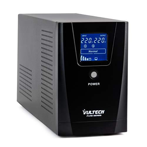 Vultech ups 1500VA Pure Line Interactive con Onda...