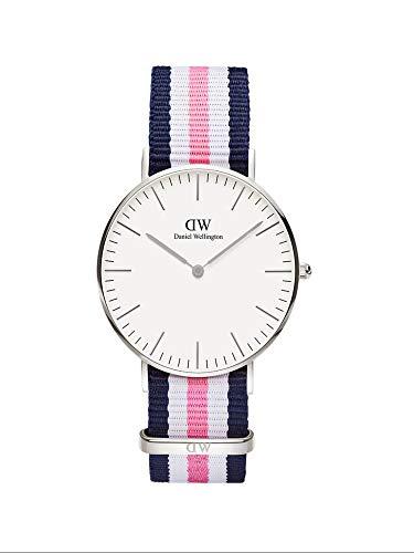 Daniel Wellington DW00100050 Damen-Armbanduhr Southampton Analog Quarz Nylon