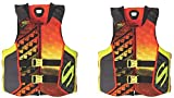 Stearns Hydroprene Life Vest 2 Pack, 2 orange, 2XL