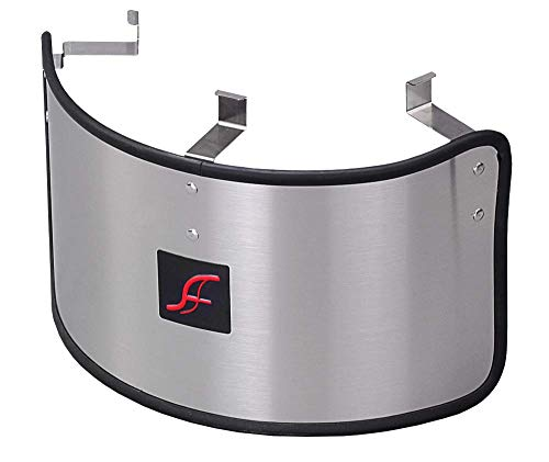AF DYNAMIC UNIVERSAL STAINLESS STEEL HEAT SHIELD COVER for 3.5'-6.5' AIR FILTER