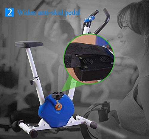 YFFSS Exercise Bikes, Foldable Exercise Bike, Home Ultra-Quiet Indoor Exercise Pedal Exercise Bike, Weight Loss Fitness Equipment with LCD Display 7