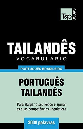 Brazilian Portuguese-Thai Vocabulary - 3000 Words