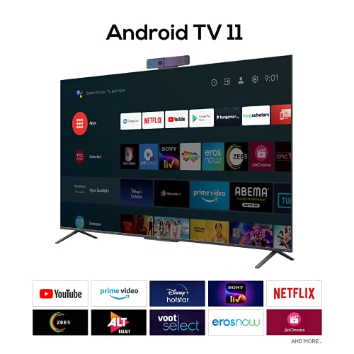 41qkbi8QFCS TCL 163.9 (65 inches) 4K Extremely HD Licensed Android Good QLED TV 65C725 (Black) (2021 Mannequin) | With Video Name Digicam
