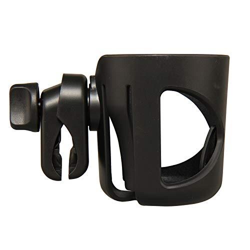 Stroller Cup Holder, Bike Drink Holder, Bottle Holder for Wheelchair, Bicycle, Office Chair, Scooter, Adjustable Attachable Cup Holder Water Bottle Cage