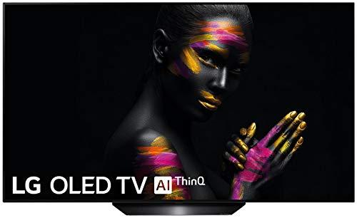 "LG OLED55B9PLA, Smart TV OLED 4K UHD De 55"" con Inteligencia Artificial, Procesador Inteligente Alpha 7 Gen. 2, Deep Learning, 100% HDR Y Dolby Vision/Atmos, Negro, 139 cm"