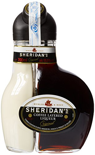 Sheridan'S Crema de Licor Café y Chocolate Negro, 700ml