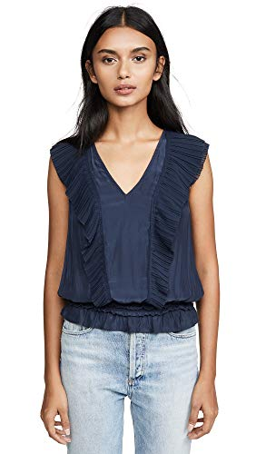 41qppH7643L. SL500 Elastic waistband V-neck