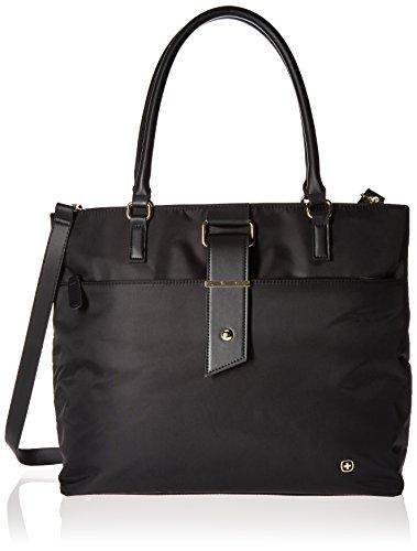 Wenger Luggage Ana 16' Women's Laptop Tote Bag, Black, One Size