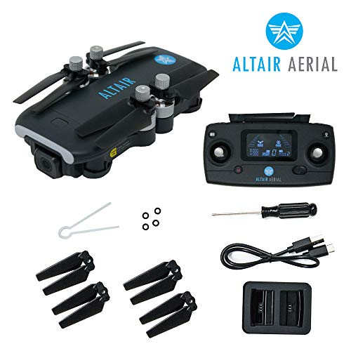 Product Image 3: Altair Aerial Dagger Foldable GPS Drone with 4K UHD Camera for Adults, 5G Compatible, Brushless Motors, Optical Flow Stabilization System, Auto Return, Weighs Less than 0.55 lbs (Lincoln, NE Company)