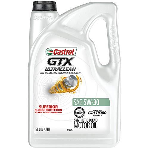 Castrol 03096 GTX 5W-30 Conventional Motor Oil - 5 Quart