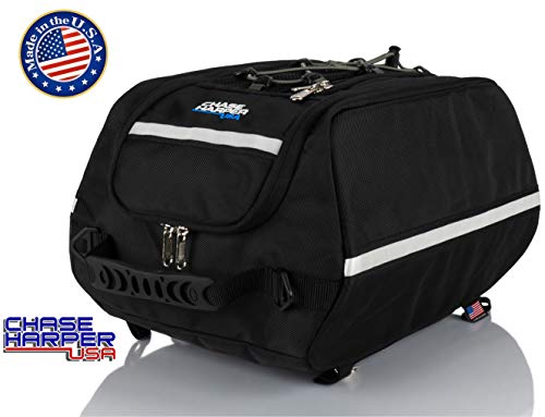 Chase Harper USA 4000 Aeropac Tail Trunk - Water-Resistant, Tear-Resistant, Industrial Grade Ballistic Nylon with Adjustable Bungee Mounting System for Universal Fit